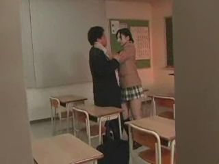 Schoolgirl Gets Fucked In Classroom By Her Teacher
