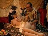 Roman Legionary Anal Fucks Egyptian Queen Cleopatra In a Tent