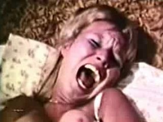 Hot Blond Gets Her First Anal Sex by Huge Cock 70's style