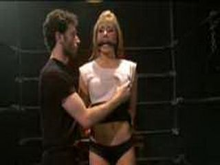 Cali Lakai gets spanked and fondled by master
