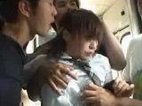 Schoolgirl groped in train