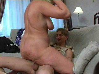 Lonely housewife fucks young neighbour boy much