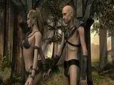 3D CGI Elf BJ