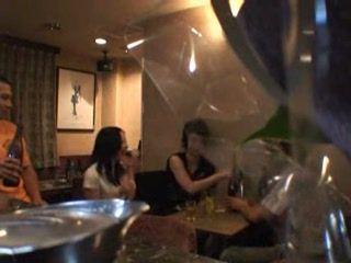 Japanese Girl Fucked In Bar Toilet