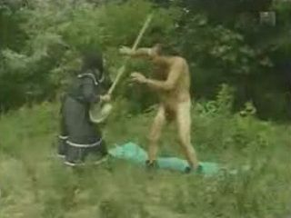 Guy Fucked Granny At The Public Road To The Village