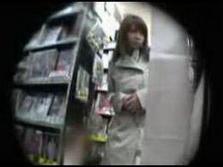 Japanese Girl Molested At The Supermarket By Stranger