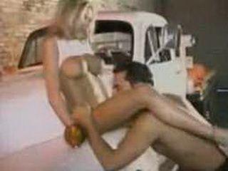 Briana Banks Fucks In The Garage