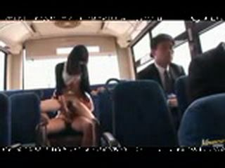 Crazy Japanese Girl Having Sex In The Public Bus With Dirty Old Fart