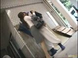 Horny Japanese Business Woman Having Sex On The Street With A Stranger