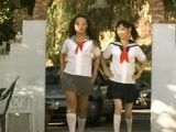 Two Horny Japanese Schoolgirls Having Fun