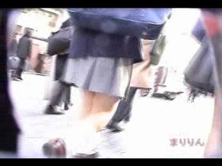 Upskirt Video Recorded On The Streets Of Tokyo
