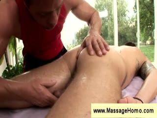 Handjob from a masseuse
