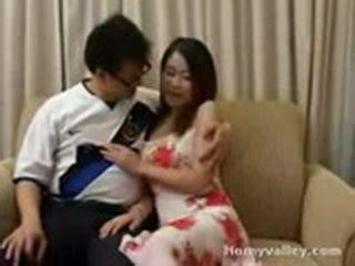 After Grabbing Her Boobs Guy Fucks Thai Hot Girl