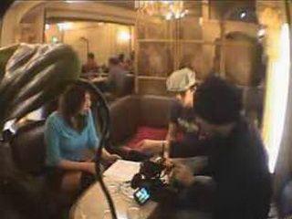 Japanese Girl Exposed At Public Restaurant