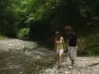 Japanese Sexy Girl Enjoys Driving Her New Car And Having Sex In The Nature