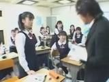 Crazy Jap Professor Violates Teriffied Schoolgirls