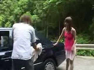 Naked Japanese Girl From The Forest Wanted Sex And She Got It