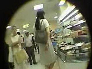 Real Japanese Voayeur Upskirt Video