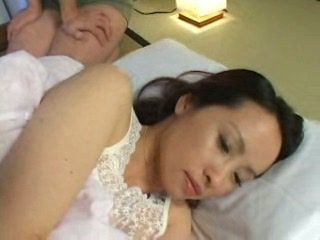 Japanese Mom Awaken Late at Night and Fucked By Husbands Young Cousin