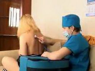 Pervert Doctor Gave Her Anesthesia And Make Her Sleep