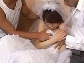 Japan Bride Fucked By Two Guys Before Getting Married