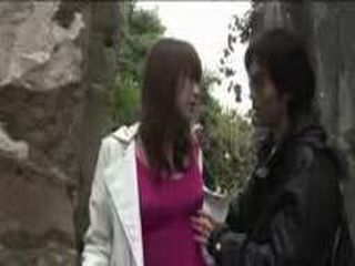 Japanese Innocent Girl Molested At The Public Place And  Fucked