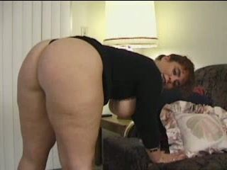 Big Ass Hot British Mama Pussy and Anal Fucked