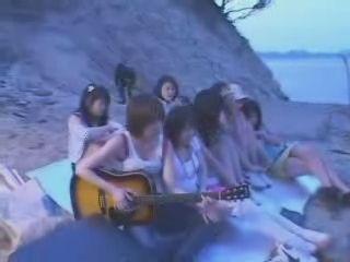 Japanese Girls Fucked On The Public Beach - Fuck Fantasy