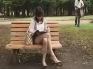 After Meeting Hot Japanese Girl In The Public Park It Was Time To Fuck Her At Home