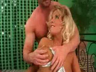 Spandex big tits babe fucked