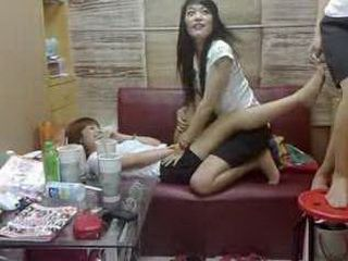 Japanese Crazy  Teen Girl Having Fun And Recording It