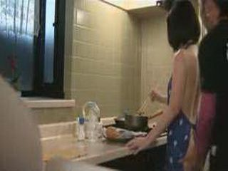 Japanese Housewige Was To Sexy For Son's Horny Friend