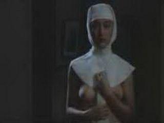 Japanese Nun Suddenly Got Horny And Masturbates In The Monastery