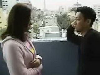 Japanese Girl Doing A Blowjob In Exchange For The Favor