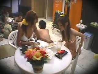 Two Japanese Teens Massage Fuck 2