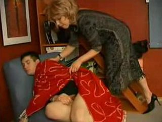 Aunt Omaria wake me up for anal sex
