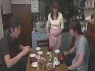 The Only Problem In This Japanese Family Is Who Will Fuck Step Mother Tonight