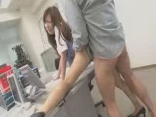 Dirty Japanese Girl Having Sex In The Office