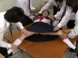 Japanese Uniformed Schoolgirl Forced On Fuck By Her School Mates
