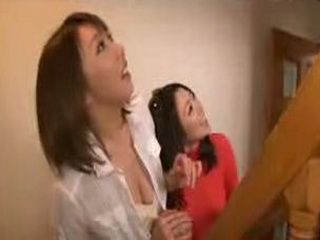 Horny Japanese Girl Likes To Get Her Anus Wet Of Tongue