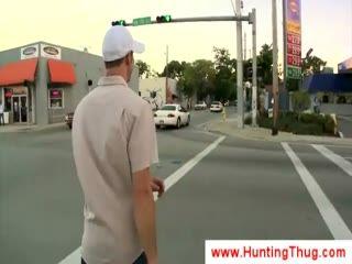 White guy kneels for a black thug