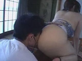 Japanese Fetish Big Butt Girl Doing Strange Sex With Guy