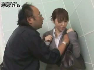 Japanese Business Lady Attacked By Maniac When She Exit Elevator