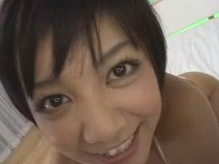 Cute Japanese Girls Sucks A Dick And Let Him Cum On Her Big Breast