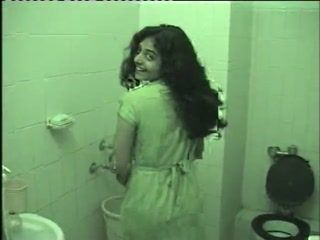 Amateur Indian College Girl Taking Shower While Her Boyfriend Tapes Her