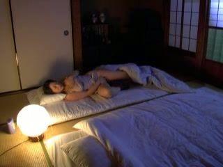 Boy Catches Mom Masturbating Late at Night