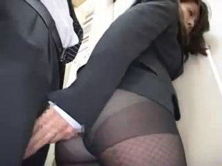Business Lady Groped In Elevator