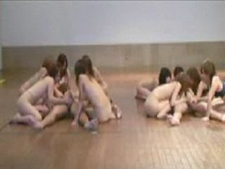 Japanese Student Girls Seduce Classmates