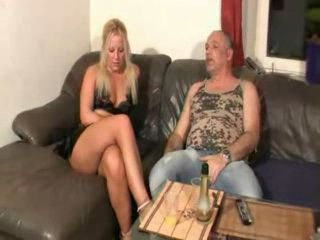 German MILF Gets Fucked By Father In law