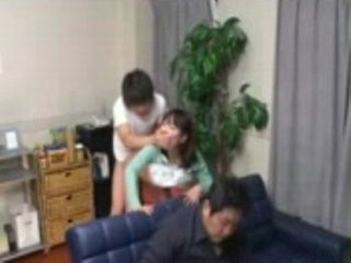 Fucking Uncles Wife Behind His Back - Literally